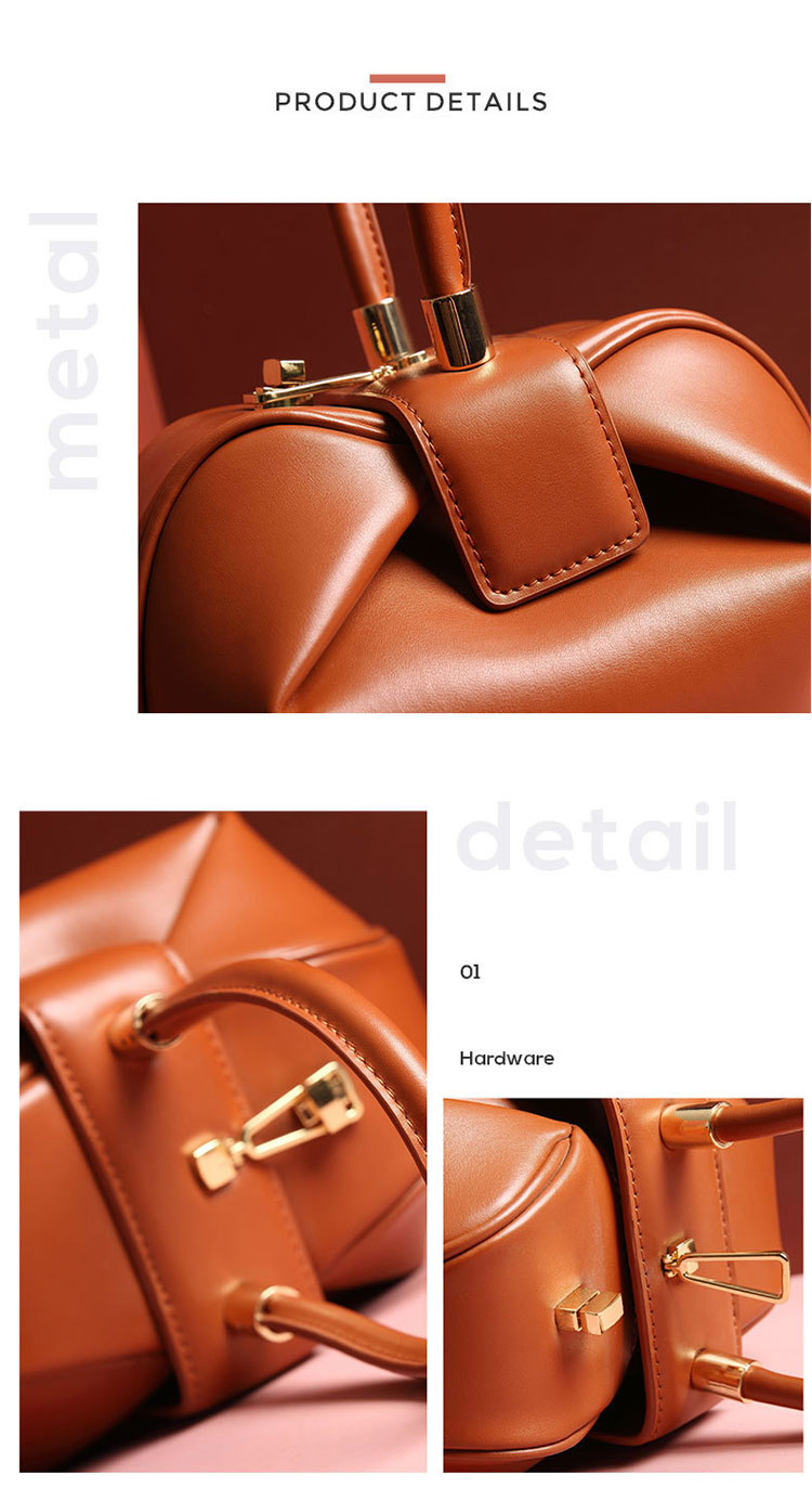 2020 New Arrivals Custom Logo Cowhide Leather Large Tote