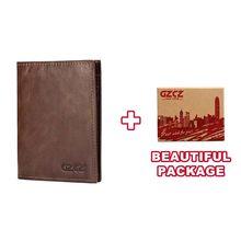 Новый высококачественный чехол для паспорта для мужчин RFID, винтажный кожаный чехол для паспорта, многофункциональный держатель для ID, банк...(Китай)