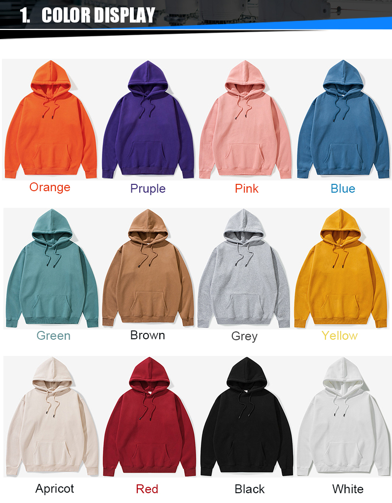 100% cotton wholesale blank hiphop hoodies men,men oversized hoodies custom logo,custom 3d mens sweatshirts hoodies printing