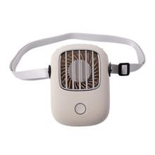 Мини-вентилятор USB, портативный подвесной вентилятор громкой связи, офисный Настольный вентилятор с подставкой, портативный Перезаряжаемы...(Китай)