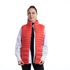 Full size casual women clothing vest outdoor padded puffer vest women