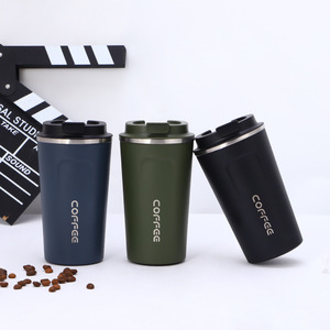 Seaygift custom amazon best seller 510ml travel double walled stainless steel heated coffee mug thermos vacuum mug
