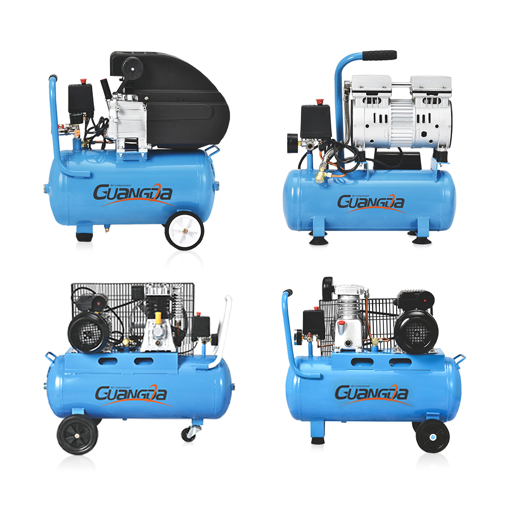 Factory cheap price portable 50L direct driven air compressor