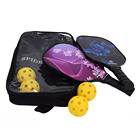 Set Pickleball Paddle Set With Fashion Hot Style Outdoor Sports Products Low MOQ Can Be Order High Quality