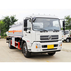 ISO tanker truck Dongfeng 10000 liters oil fuel tank truck for sale