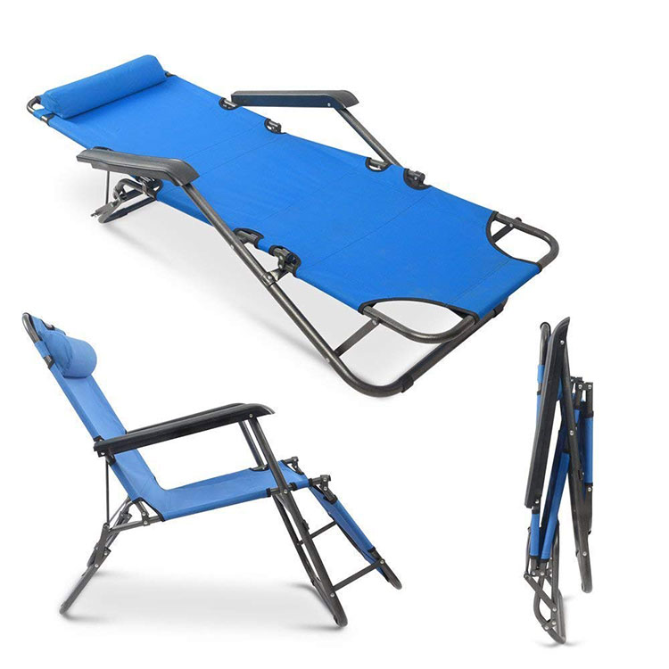 foldable chair lounger fishing outdoor bunk bed camp folding