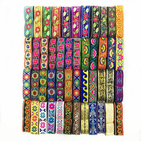 China Suppliers Jacquard Ethnic Ribbon Trim