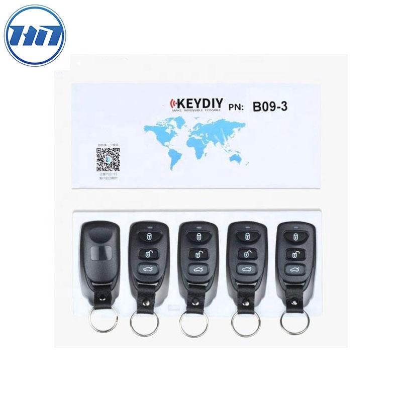 Original KEYDIY Car Remote Key With 3 Buttons KD B Series B09-3 For KD900 KD200 MINI KD-X2