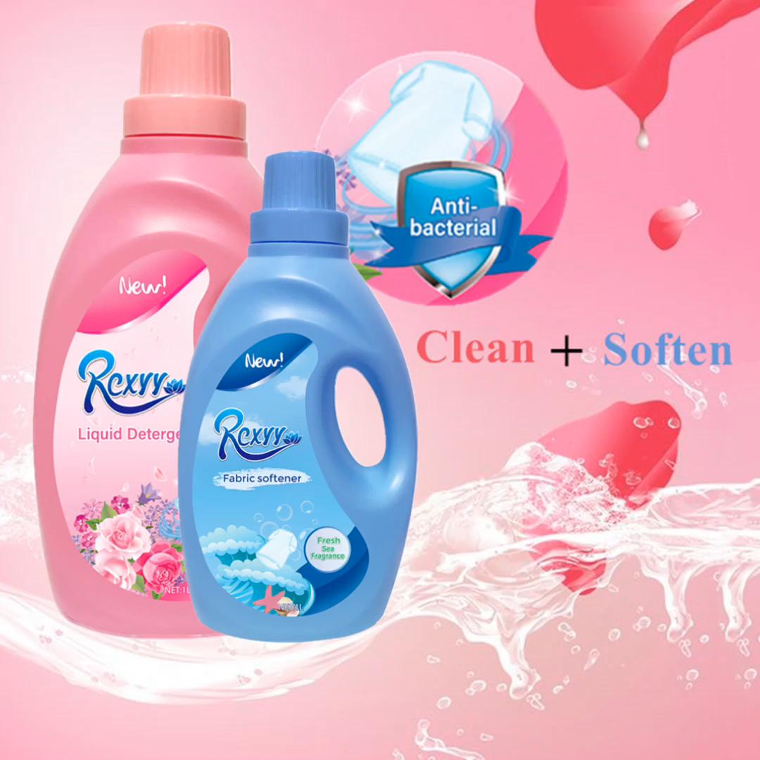 ผลิตภัณฑ์ขายร้อน1Lสากลน้ำหอมซักรีดผงซักฟอกซักผ้าของเหลวทำความสะอาดผ้า