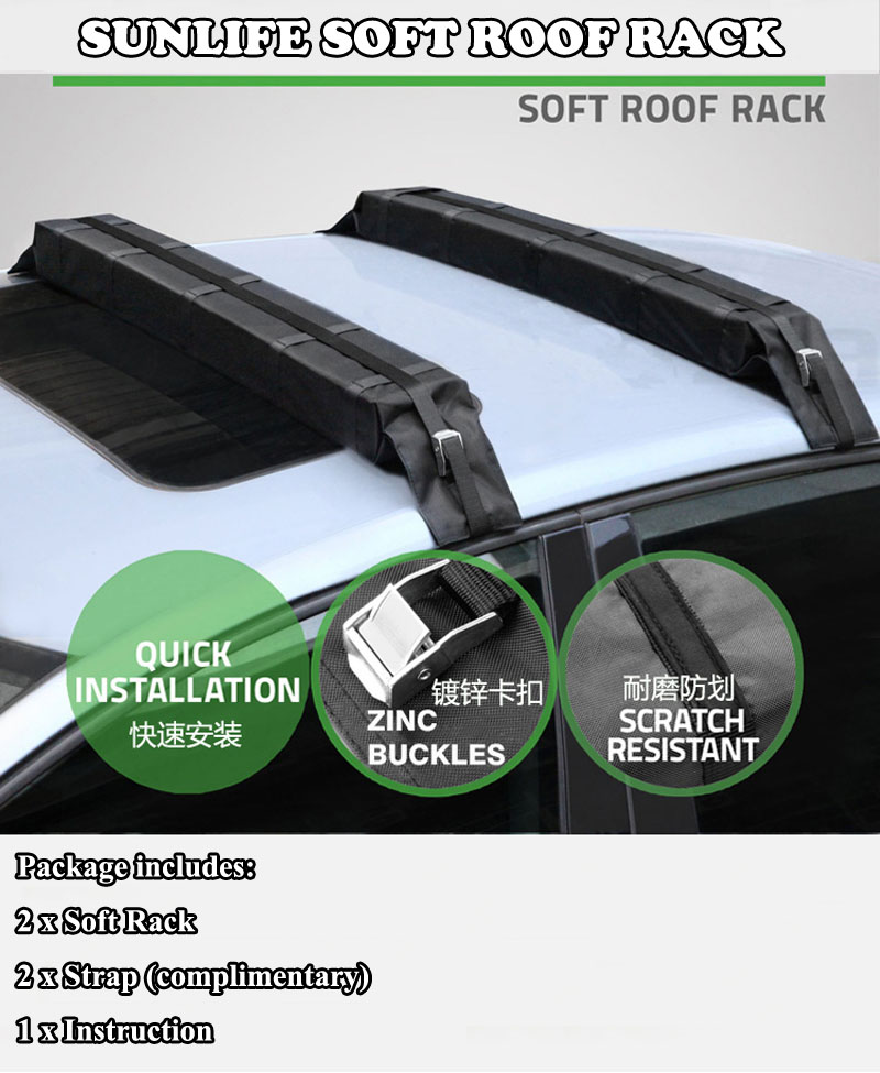 Paddle Board Car Racks >> Universal Car Soft Roof Rack Pad For Kayak Canoe Surfboard Paddleboard Sup And Water Sports Accessories Buy Soft Roof Rack Car Soft Roof Rack