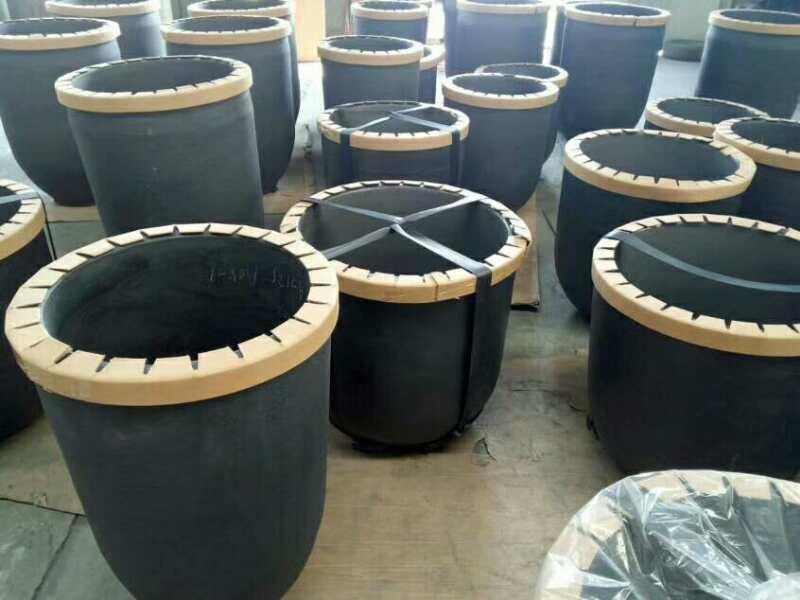 Silicon carbide graphite crucible