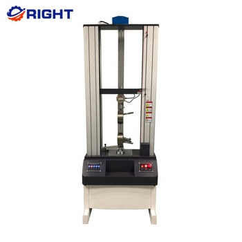 ASTM D412 5KN Electronic Manufacturer Price Used Plastic Rubber Universal Tensile Testing Machine