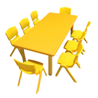 OEM custom kids plastic tables and chairs mould