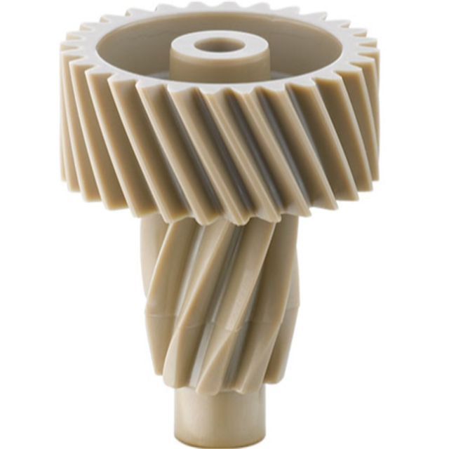 5 Axis Good Quality nylon plastic pom pinion helical gear dongguan manufacturer