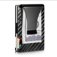 Double Carbon Fiber Slim Wallet 3K Carbon Card Case Credit Card Holder for Men