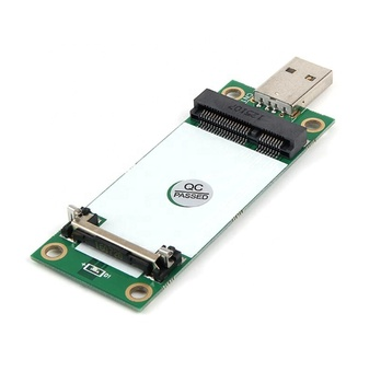 Taidacent 5V to 3.3V 3G 4G Wireless Module WWAN Development Board Holder Mini Pci Express to Usb Adapter Card