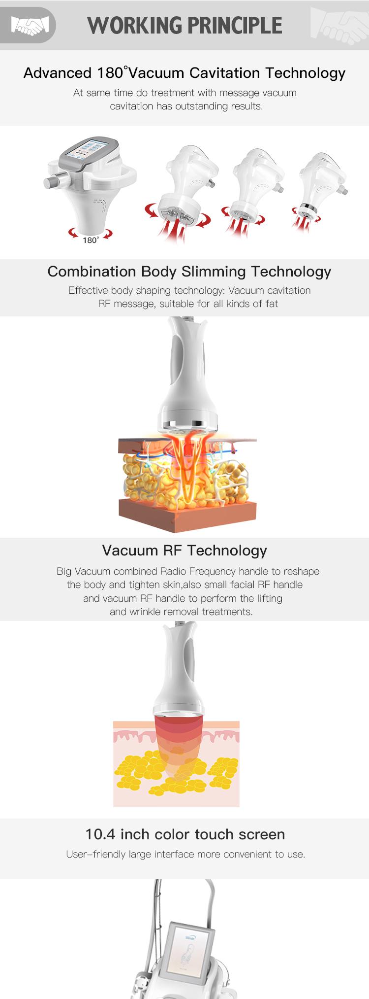 2019 Новое поступление продукта Кавитация и диодный лазер для похудения ультразвуковой сжигание жира потеря веса машина