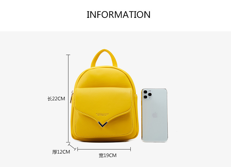 product-Osgoodway-Osgoodway2 Ladies fashionable PU leather backpack bag luxury women small backpack -1