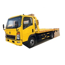 Howo 4X2 6 Meter 250Hp Lkw Flache <span class=keywords><strong>Transport</strong></span> Lkw