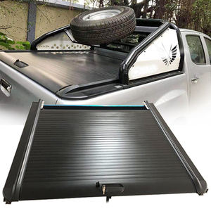 Car Retractable Aluminium Alloy Roller lid Pick up Truck Hard Bed For Isuzu Dmax Tonneau Cover