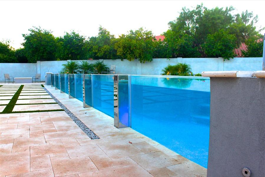 PG personalizado claramente bajo el agua Ventana de acrílico piscina al aire libre