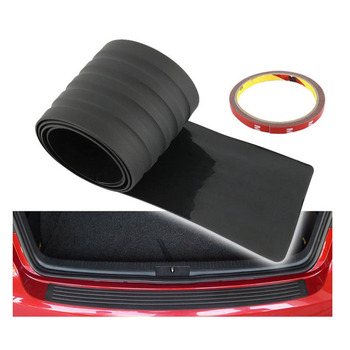 Universal auto rear bumper guard truck scratch car door sill edge rubber protector strip pad mat