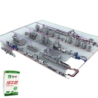 Complete automatic UHT milk production line(Shanghai Jimei)