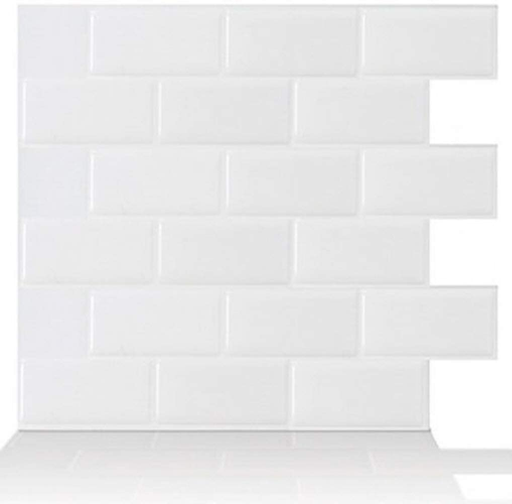 Peel and stick tile sticker Waterproof and oil-proof 3D brick wallpaper for Kitchen & Bathroom decoration