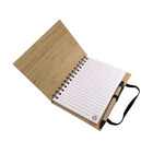 Loose Leaf Fashion Wood Notebook Set Custom Pages