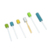 Colorful Hospital  Tooth Cleaning Sterile Foam Surgical Dental Sponge Stick