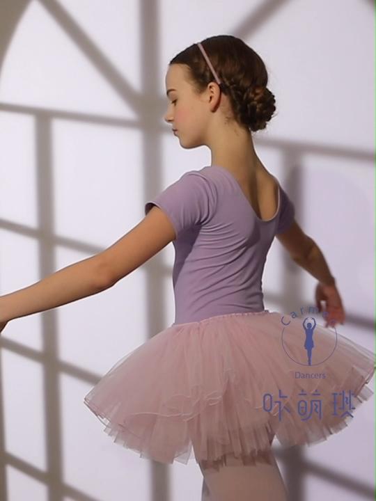混合色ステージキッズバレエチュチュスカートダンス子供ドレス服女の子ダンスミニスカート