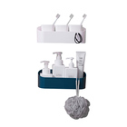 PVC Bathroom Caddy 8 Bathroom Cabinet Display Rack Bathroom Cabinet And Racks Shower Storage