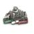 Cool Zinc Alloy Metal Fridge Magnet For Italy Tourist Souvenir