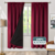 Manual classic luxury jacquard fabric blackout curtains