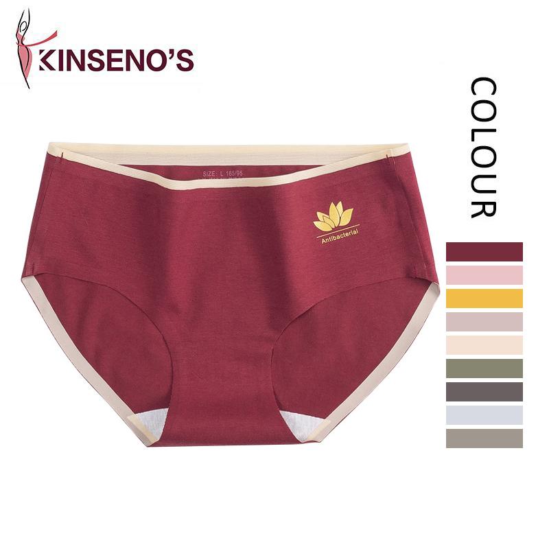 Kinseno's Manufacturer Women Cute Seamless Cotton Sexy Panty Thong Ladies