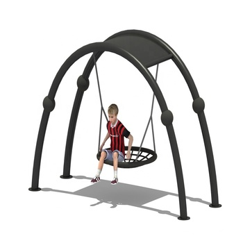 New design children's funny moon Swing; outdoor fitness equipment