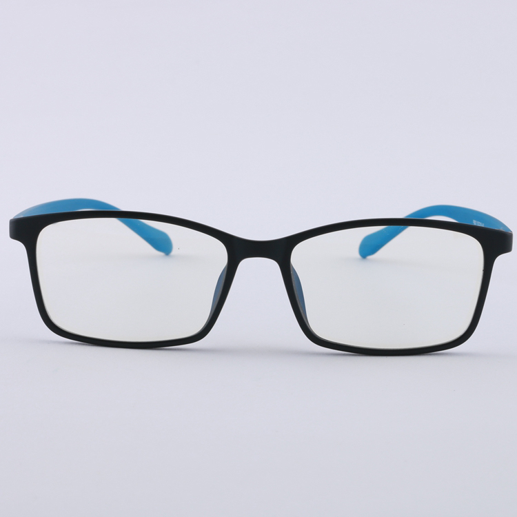 cheap OEM very light popular comfortable elastic paint TR90 Anion glasses anti blue light glasses