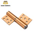 Space Aluminum Flag Hinges Hydraulic Automatic Soft Closer 5 Inch Q-type Buffer Door Hinge with factory price