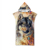 Wolf Design Wholesale Adults Hooded Towel Animal Pattern Super Absorbent Adults Hooded Beach Towel With Hood Ready to Ship