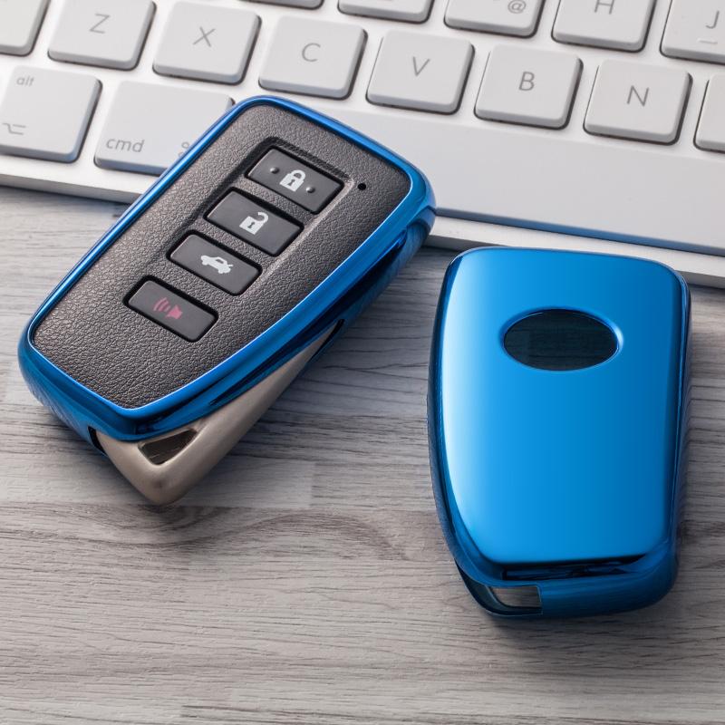 Musuha Mobil Styling TPU Mobil Kunci Case Shell untuk Lexus NX GS RX Adalah Ialah GX LX RC 200 250 smart Remote Case Kunci Shell