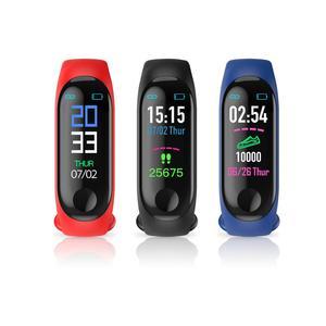 New arrival sport fitness control bracelet smart bracelet M3 band smart watch