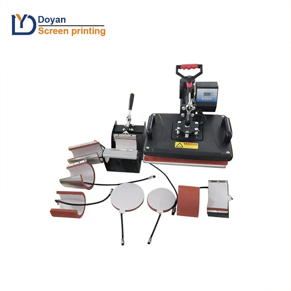 2020 Heat Press Transfert Hot Sale 38x38 8 in 1 Heat Press Machine Combo Heat Press Machine