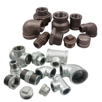 Free sample Malleable black iron Thailand galvanized original black threaded pipe fittings