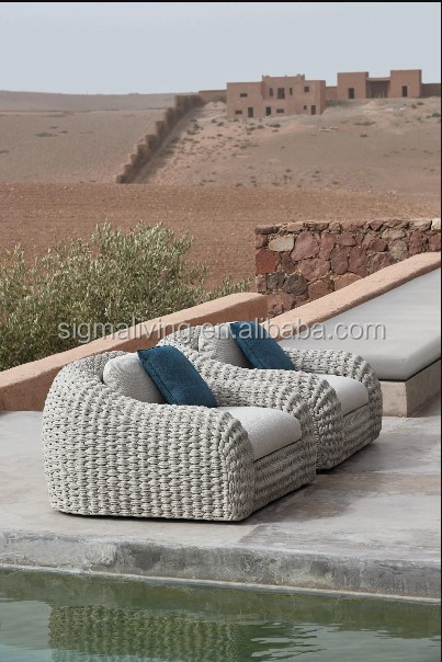 Patio balcony garden sets rope outdoor sofa set living room sofa set furniture