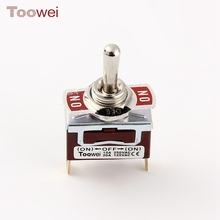 Factory wholesale excellent quality (ON)-OFF-(ON) waterproof 3 way small toggle switch