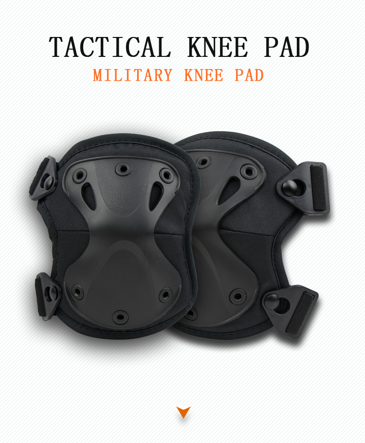 VUINO free sample black elbow knee pads tactical
