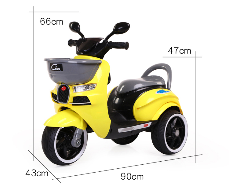 Three wheel toy girls electric motorbike / motorcycle battery car kids ride on / electric motorcycle scooter kids
