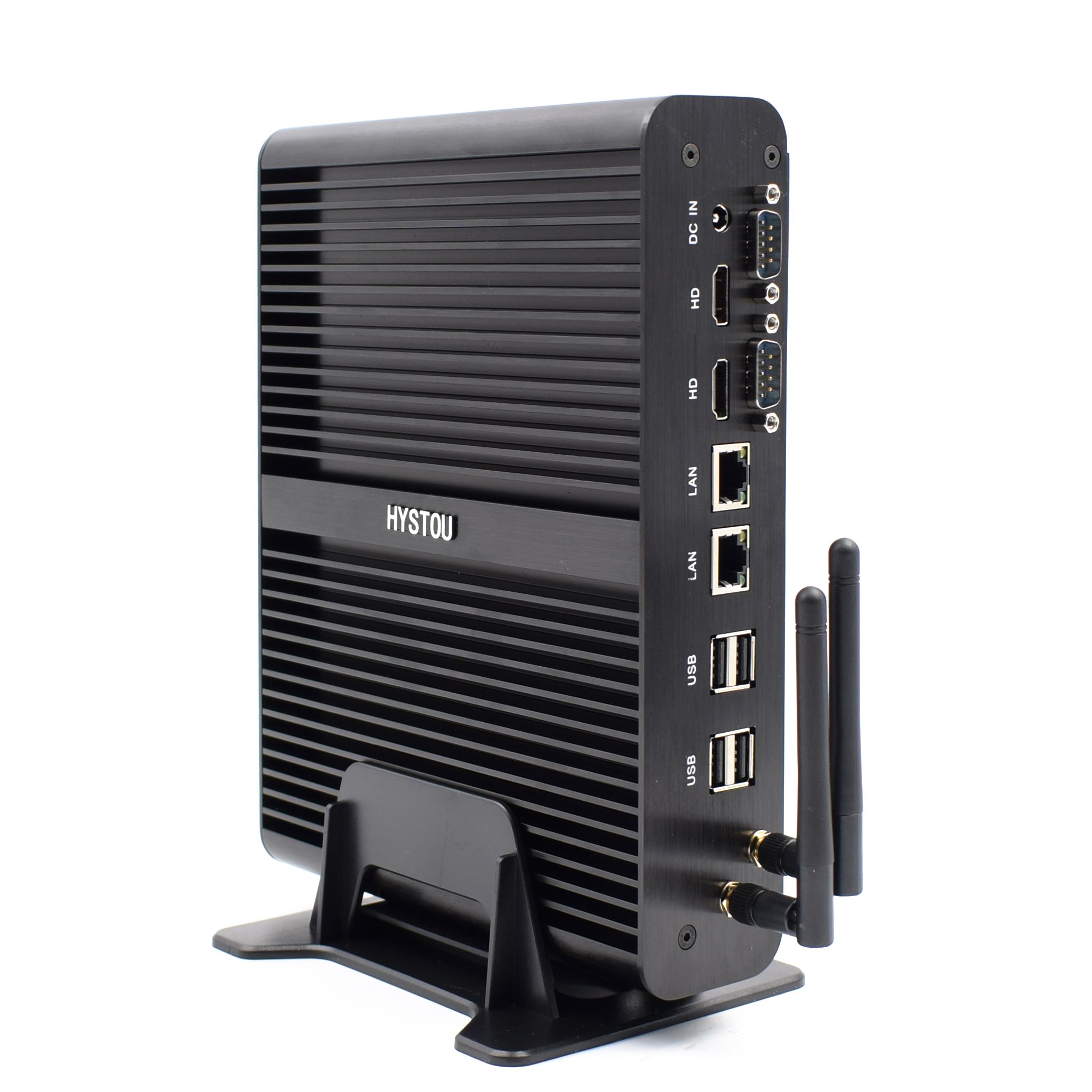 Small Tower <strong>computer</strong> all in one PC i7 gaming desktop barebone Server Intel Core 5500U micro pc Fanless Mini PC X86 low power 12V