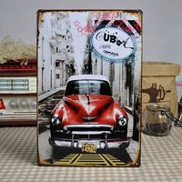 30x20cm Souvenirs Metal Sign Tin Poster Wall Door Plaque