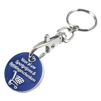 Wholesale Cheap Custom Metal Trolley Coin Metal Tokens